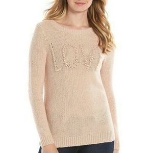 LC Lauren Conrad Love Sweater